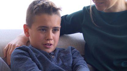 """Axl (11) is enige Belg die bepaald gen mist: """"Hij heeft last van epilepsie en kampt met mentale achterstand"""""""