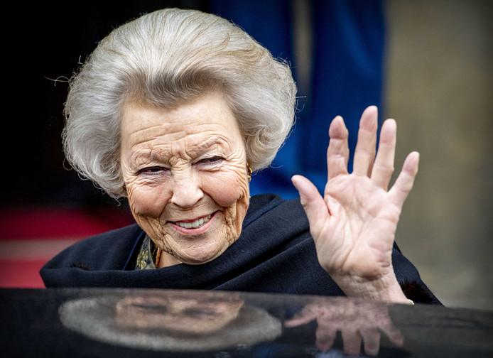 Prinses Beatrix eerder dit jaar.