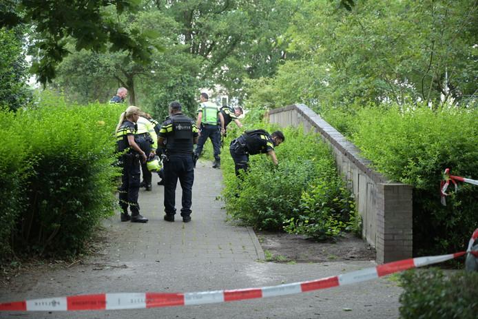 Politie op zoek naar sporen van mogelijk schietincident Tilburg