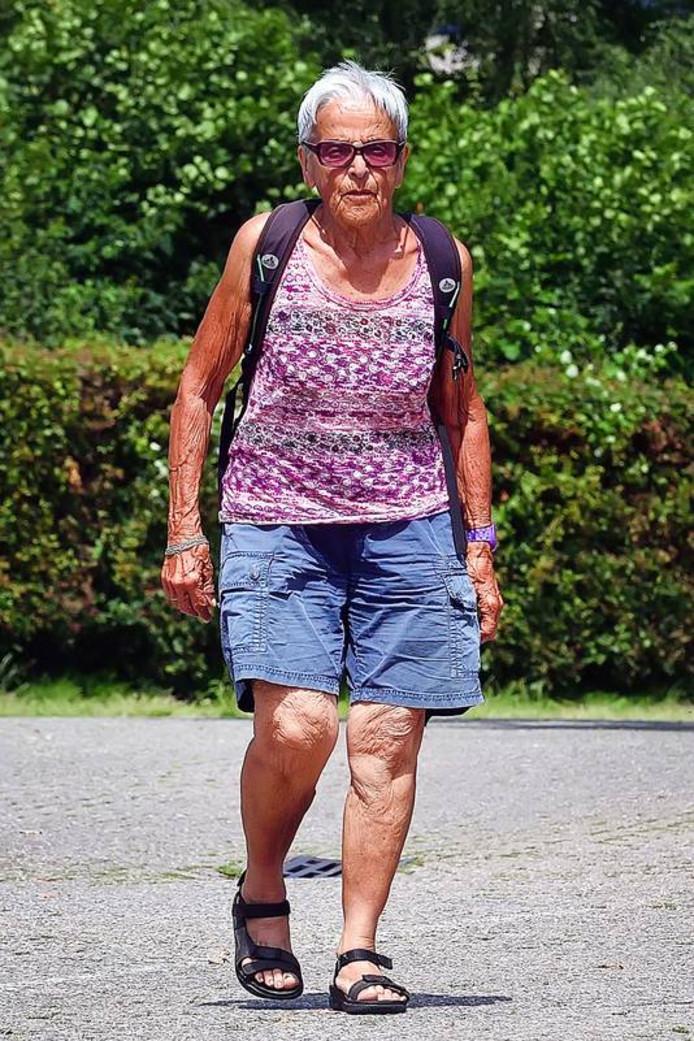 Blanche Troost debuteerde dit jaar tijdens de Vierdaagse van Nijmegen.