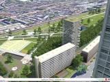 Even schrikken van woontorenplan in Tilburgs Spoorpark