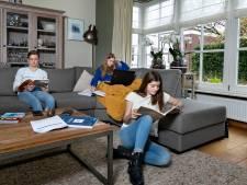 Drie kandidaten in één gezin in Mierlo: samen maar toch alleen examen doen