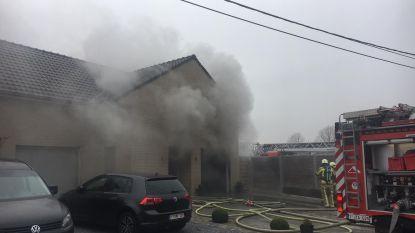 Droogkast zet woning onder de rook
