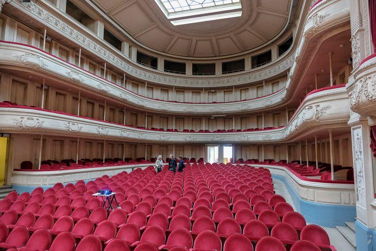 De concertzaal is de parel van het Conservatorium.