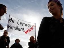 Brabantse basisschoolleraren houden regionale staking; manifestatie in Eindhoven