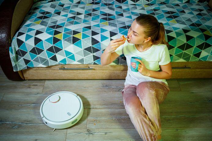 Even een broodje eten? Houd er een keukenpapiertje onder, raadt Marja Middeldorp aan.