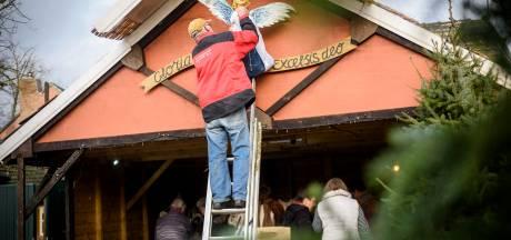 Feestje rondom 15-jarige kerststal in Vessem