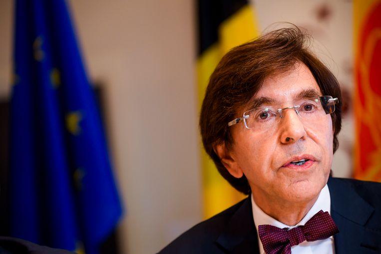 Waals minister-president Elio Di Rupo (PS).