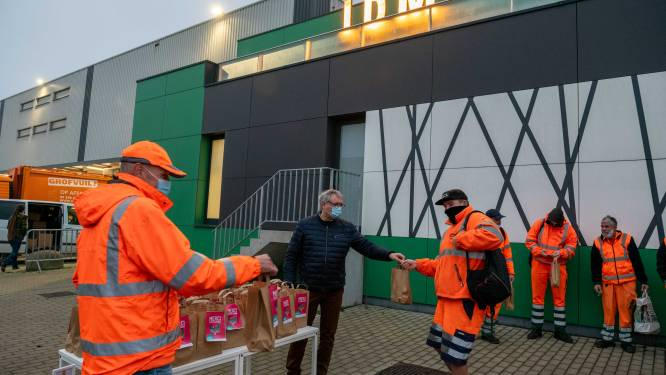 IDM-directie trakteert medewerkers op coronaproof ontbijt
