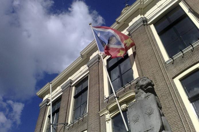 Het stadhuis van Zaltbommel.