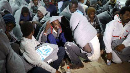 Honderdtwintig vluchtelingen gered voor Libische kust