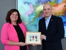 Royal Air Force-medailles van Halifax-vlieger kapitein Clarke komen naar Dongen