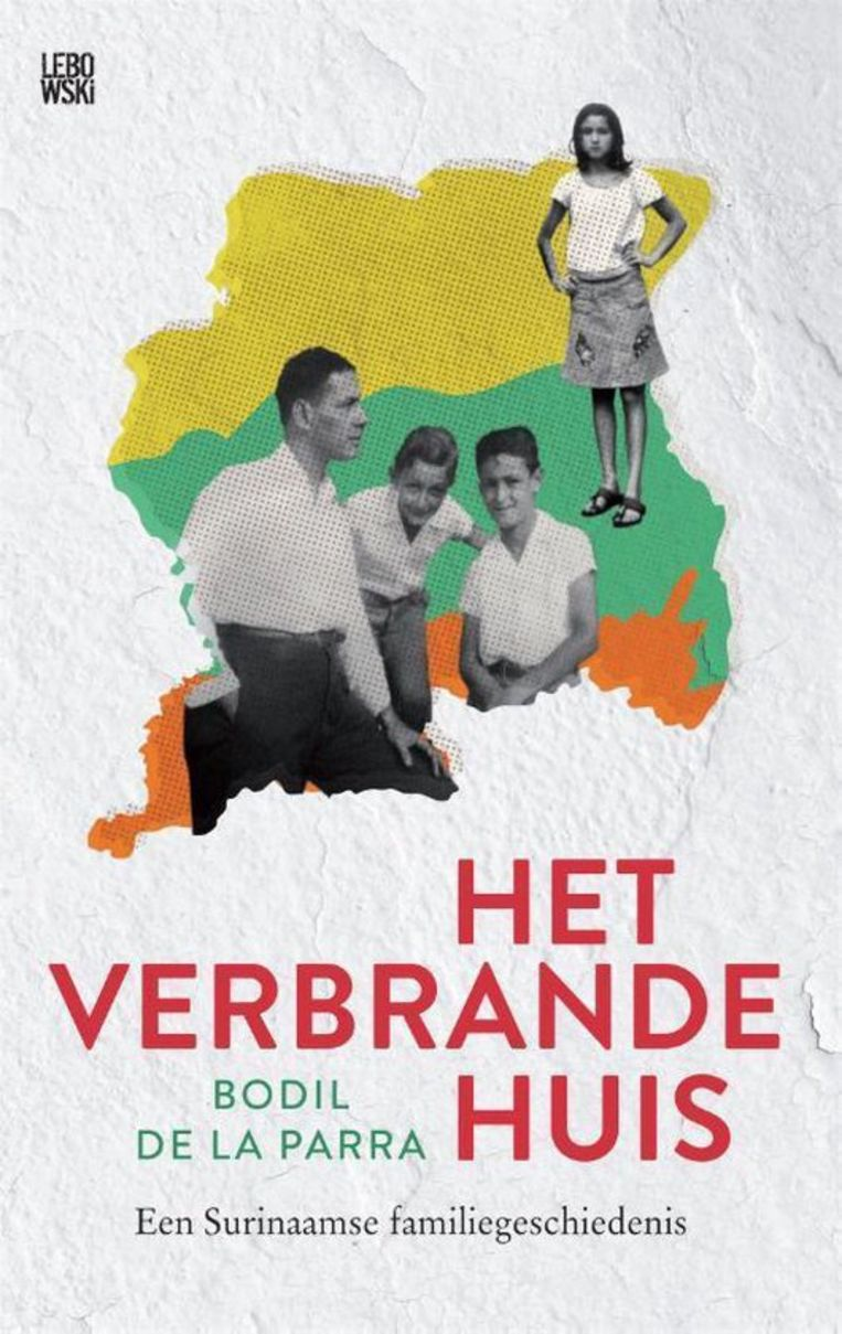 Non-Fictie, Bodil de la Parra, Het Verbrande Huis, Lebowski, €22,99, 240 blz. Beeld