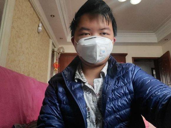 Tiger Ye, schuilnaam voor een 21-jarige student die het coronavirus opliep.