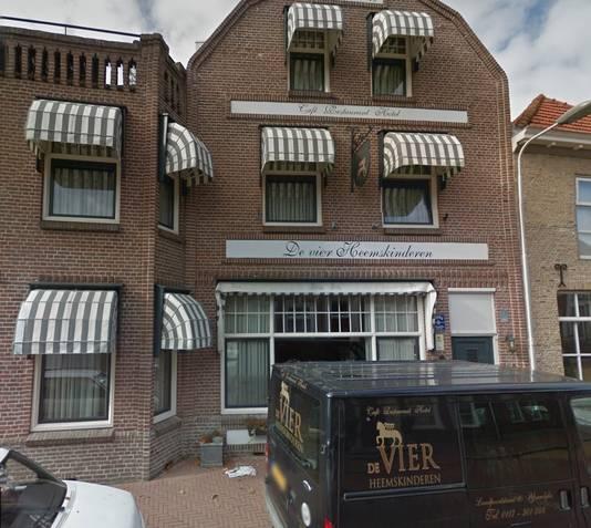 Hotel de vier Heemskinderen in IJzendijke.