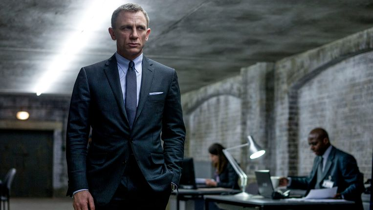 Daniel Craig als James Bond in Skyfall Beeld ap