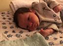 Baby Yassin van Baarlen.