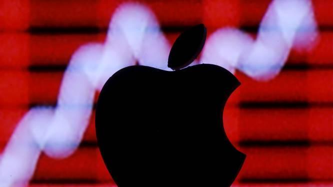 Beurswaarde Apple met 385 miljard euro gedaald sinds record