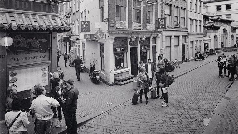 Foto uit boek Kopstoot van Café Dijk Beeld Willem Pijffers