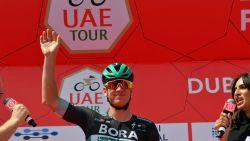 Ackermann rijdt naar de bloemen in koninklijke openingssprint UAE Tour