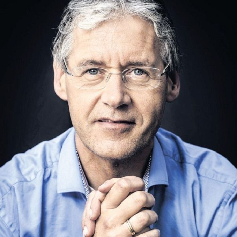 Arie Slob:'De houding van D66, SGP en ChristenUnie is altijd zo geweest, dat de VVD en PvdA de echte gedogers zijn.' Beeld Jacqueline de Haas, HH