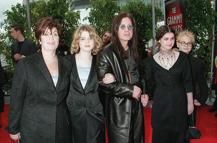 De Osborn familie op de rode loper.  Beeld Corbis via Getty Images