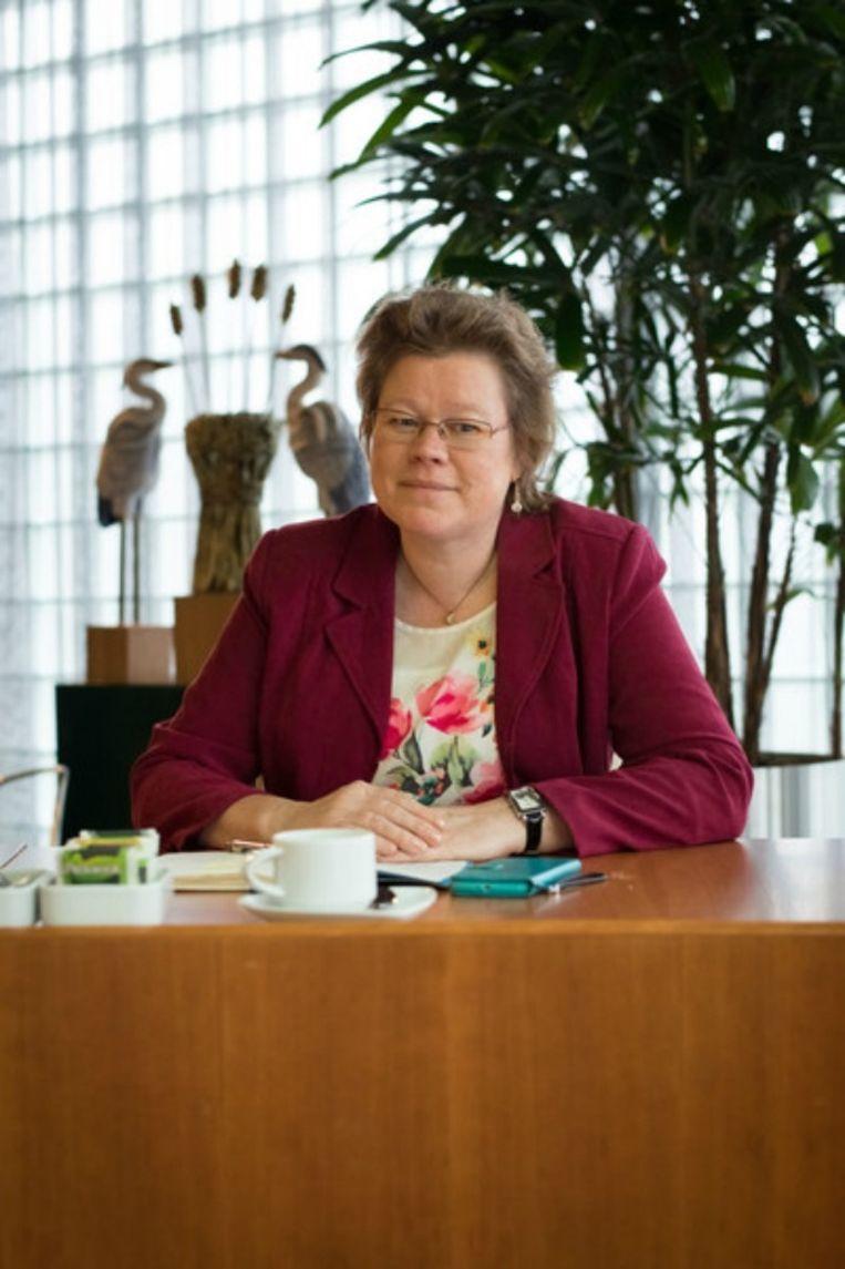 Annette Valent, fractieleider bij Senioren Heerhugowaard. Beeld Tr Beeld.