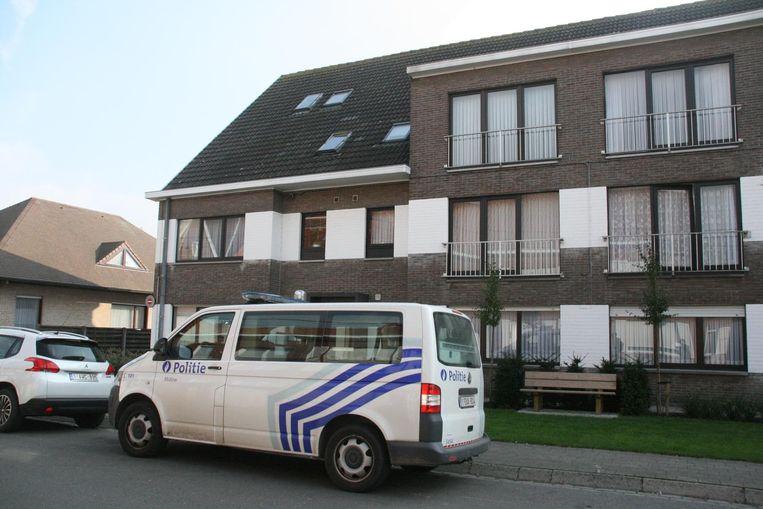 Residentie Ter Ghinste, waar Roland Roelens vermoord werd.