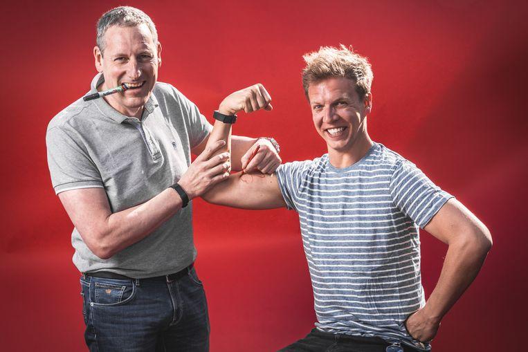 Gert Verhulst en James Cooke.