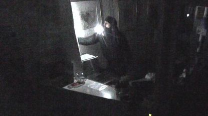 Ginstberg krijgt inbreker over de vloer