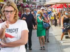 Precies waar het RIVM voor waarschuwt: in België lijkt men dankzij de mondneusmaskers nog minder afstand te houden