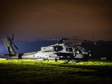 Dronten opgeschrikt door plots landende gevechtshelikopter van de Luchtmacht