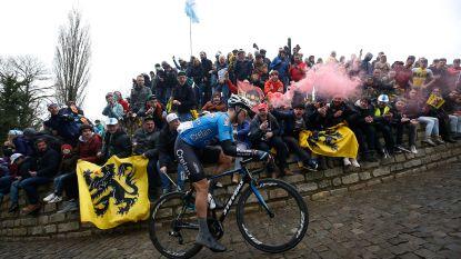 Michael Goolaerts in de Ronde nog 100 kilometer mee in de aanval, gisteren werd zijn eerste Parijs-Roubaix hem fataal
