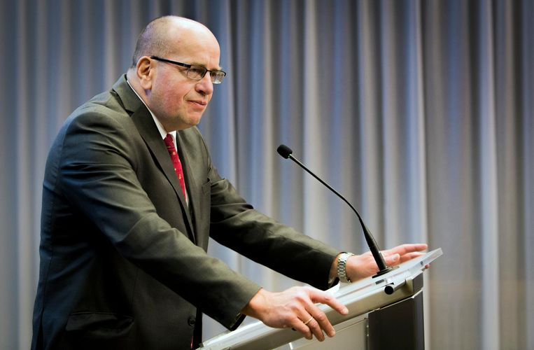 Oud-staatssecretaris van Veiligheid en Justitie, Fred Teeven Beeld Freek van den Bergh / de Volkskrant