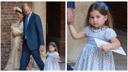 """De Britse prinses Charlotte zet de pers op zijn plaats: """"Jullie komen niet"""""""