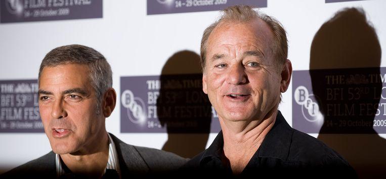 George Clooney en Bill Murray Beeld afp