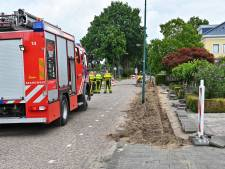 Gaslek Postbaan in Prinsenbeek