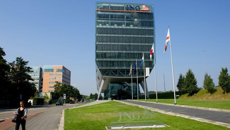 Exterieur van het hoofdkantoor van de ING. Beeld anp