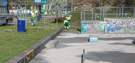 Skatebaan in Zwolle hermetisch afgesloten: 'Zo hoeven we het bonnenboekje niet te trekken'