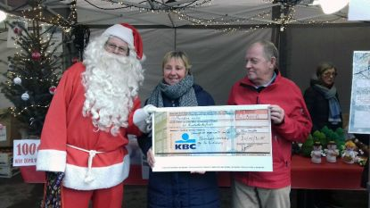 Tremeloop schenkt 500 euro aan Kinderkankerfonds