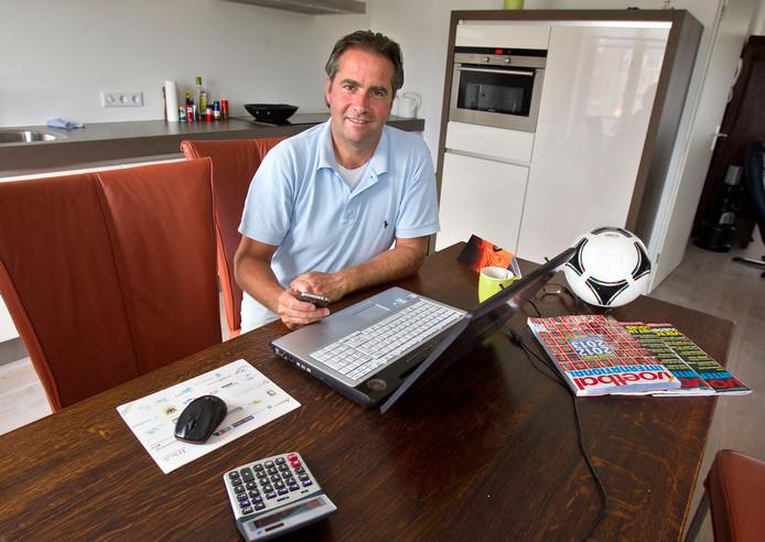 """Voormalig PSV'er en VVV'er Edwin van Berge Henegouwen: """"Misschien was ik bij VVV in de jaren tachtig een beetje de Clint Leemans van nu."""""""
