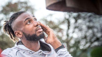 """Mboyo: zes jaar geleden nog Rode Duivel, nu eindelijk weer boven water in Kortrijk: """"Ik heb het onderweg ergens laten afweten"""""""