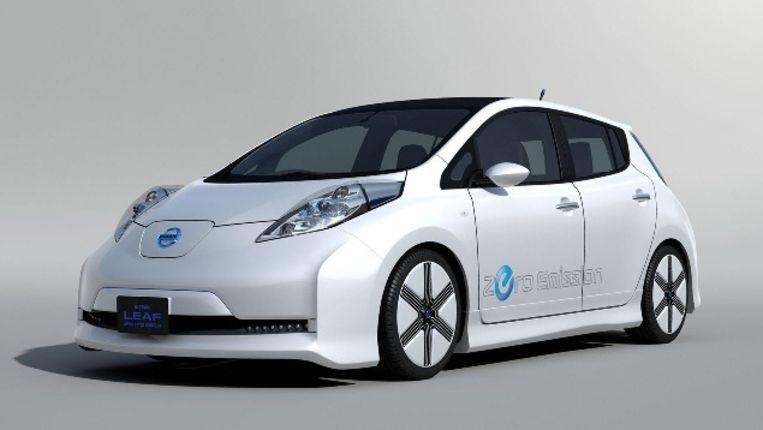 Elektrische Auto Wint Het In Vs Van Hybrides Trouw