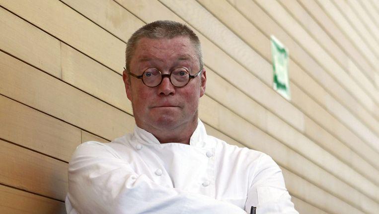 De Britse chef-kok Tom Kerridge presenteert Bake Off: Creme de la creme, een spin-off van The Great British Bake Off (de oerversie van Heel Holland Bakt). Beeld epa