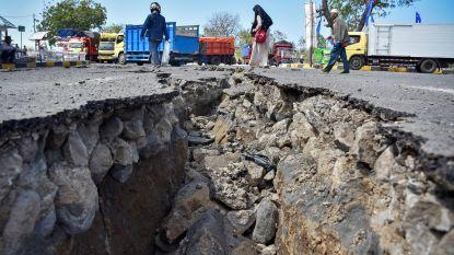 Al 555 doden geteld na aardbevingen op Lombok