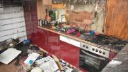 Keuken brandt volledig uit