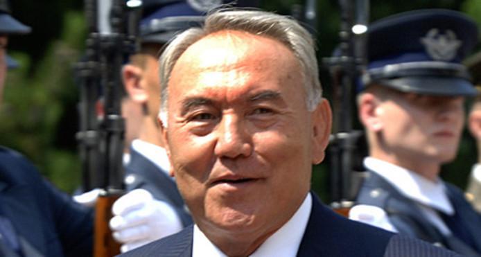 President Nursultan Nazarbajev van Kazachstan.