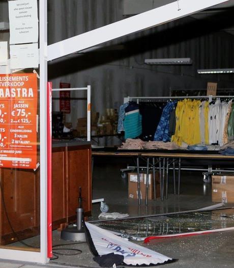 Ramkraak bij BVA Auctions in Vught; merkkleding gestolen