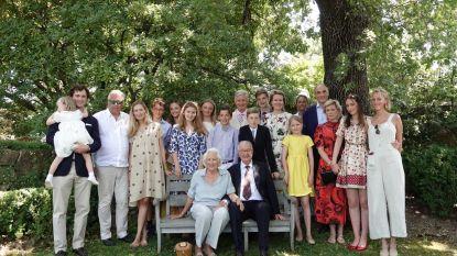 Hele koninklijke familie nog eens samen voor 60ste huwelijksverjaardag Albert en Paola
