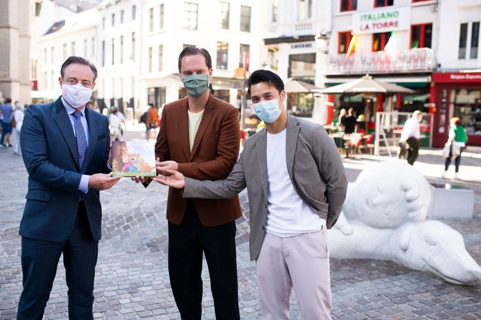 Bart De Wever, Tanguy Ottomer en Phillipe Hosselet